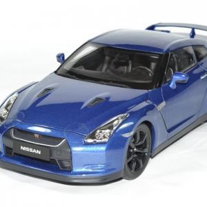 Nissan GTR R35 2008 bleu