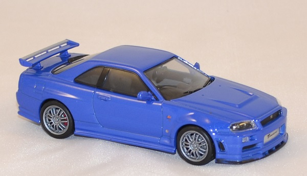 Nissan Skyline Gt R 2002 Fast And Furious 4 Greenlight 143