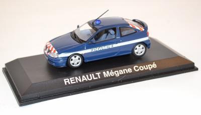 Renault Mégane Coupé gendarmerie 2001 Norev 1-43
