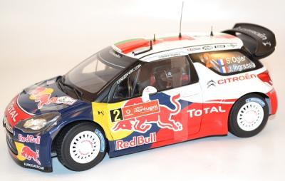 Citroen DS3 WRC winner portugal 2011 #2 S.Ogier Norev 1/18