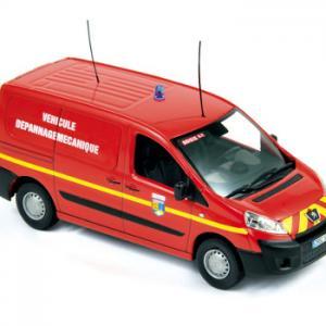 Peugeot expert dépannage Sapeurs pompiers