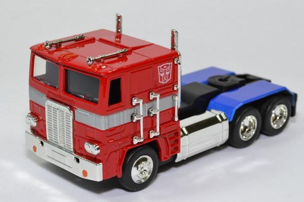 Optimus prime g1 transformers jada toys 1 32 jada99447 autominiature01 1