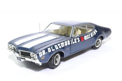 Oldsmobile Cutlass 442 1969 Bleue