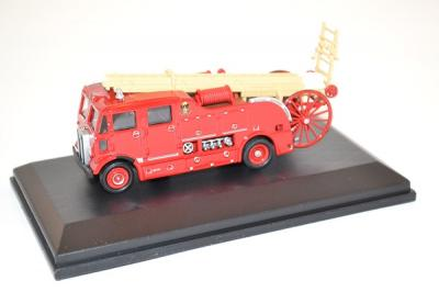 Aec Regent ladder fire truck miniature Oxford 1-76