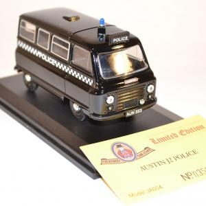 Oxford 1 43 austin j2 police edition limit e miniature collection autominiature01 com 2