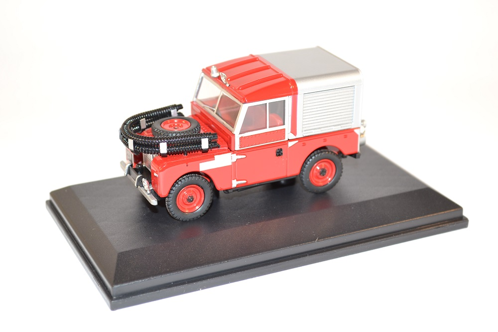 Oxford 1 43 sapeurs pompiers land rover 88 fire appliance miniature collection auto autominiature01 com 1
