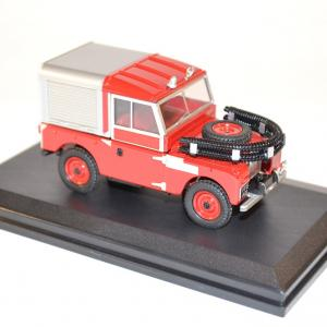 Oxford 1 43 sapeurs pompiers land rover 88 fire appliance miniature collection auto autominiature01 com 2