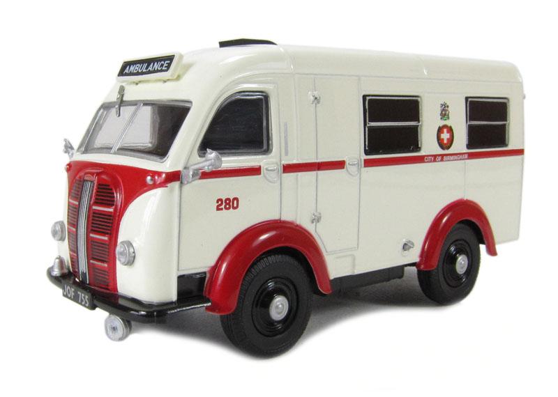 Oxford austin k8 wellfarer ambulance birmingham autominiature01 com 1