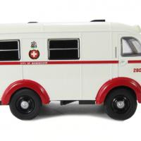 Oxford austin k8 wellfarer ambulance birmingham autominiature01 com 3