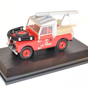 Oxford sapeurs pompiers land rover 88 fire british rail miniature autos autominiature01 com 1
