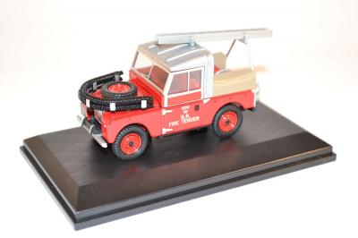Land Rover  88 Fire British Rail Pompiers Oxford au 1-43