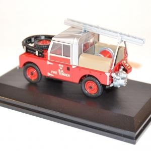 Oxford sapeurs pompiers land rover 88 fire british rail miniature autos autominiature01 com 2