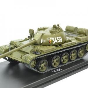 Panzer T-55 NVA char armée allemande en RDA