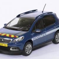 Peugeot 2008 gendarmerie 2016 1 43 norev autominiature01 479822 1