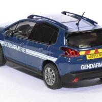 Peugeot 2008 gendarmerie 2016 1 43 norev autominiature01 479822 2