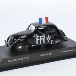Peugeot 202 1938 FFIForces Françaises de l'Intérieur