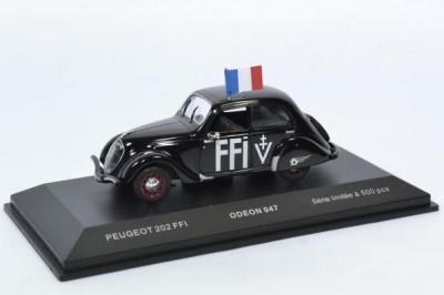 Peugeot 202 1938 FFI Forces Françaises de l'Intérieur