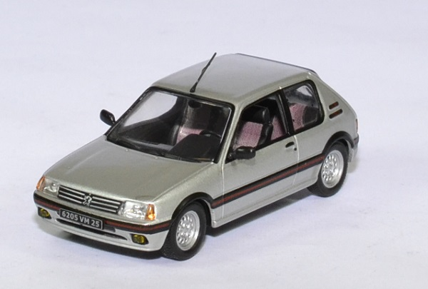 Peugeot 205 gti 1986 1 6l solido 1 43 autominiature01 1