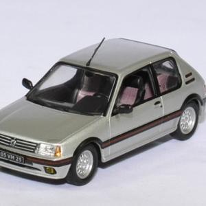 Peugeot 205 gti 1,6l 1986 grise