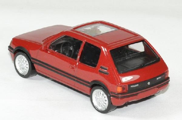 Peugeot 205 gti rouge norev 1 43 jet car autominiature01 2