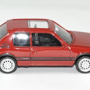 Peugeot 205 gti rouge norev 1 43 jet car autominiature01 3