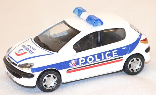 Peugeot 206 police nationale oliex miniature auto autominiature01 com 1