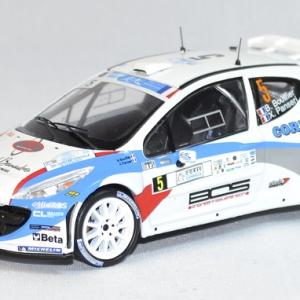 Peugeot 207 s 2000 rallye corse 2013 whitebox 1 43 autominiature01 com 1
