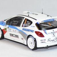 Peugeot 207 s 2000 rallye corse 2013 whitebox 1 43 autominiature01 com 2