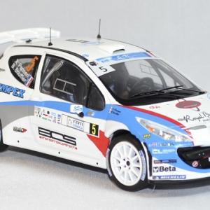 Peugeot 207 s 2000 rallye corse 2013 whitebox 1 43 autominiature01 com 3