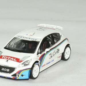 Peugeot 208 t 16 blanche 1 43 norev autominiature01 1