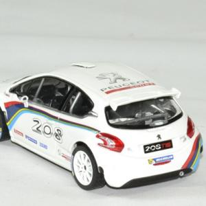Peugeot 208 t 16 blanche 1 43 norev autominiature01 2