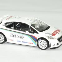 Peugeot 208 t 16 blanche 1 43 norev autominiature01 3