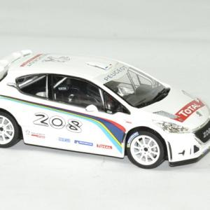 Peugeot 208 t 16 blanche 1 43 norev autominiature01 3