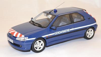 Peugeot 306 16s BRI french gendarmerie ottomobile 1-18