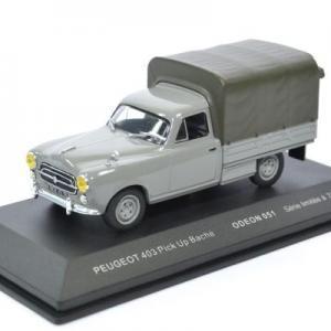 Peugeot 403 pick-up bache gris