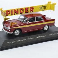 Peugeot 404 cirque pinder pub 1 43 odeon autominiature01 odeon019 1
