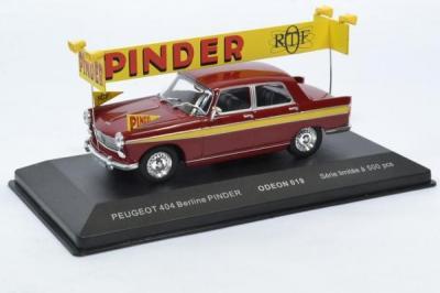 Peugeot 404 berline Cirque Pinder