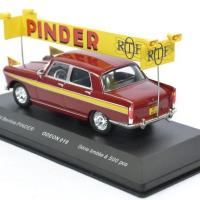 Peugeot 404 cirque pinder pub 1 43 odeon autominiature01 odeon019 2