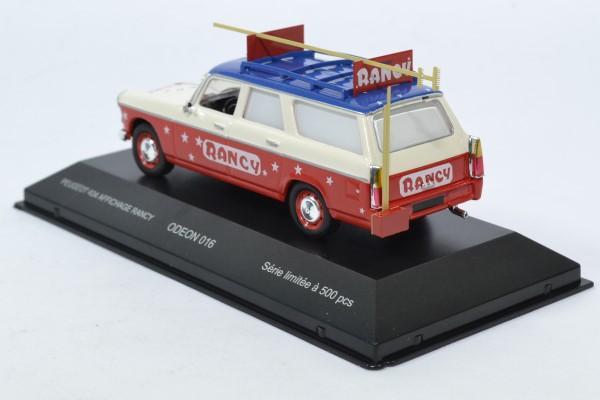 Peugeot 404 cirque sabine rancy pub 1 43 odeon autominiature01odeon016 2