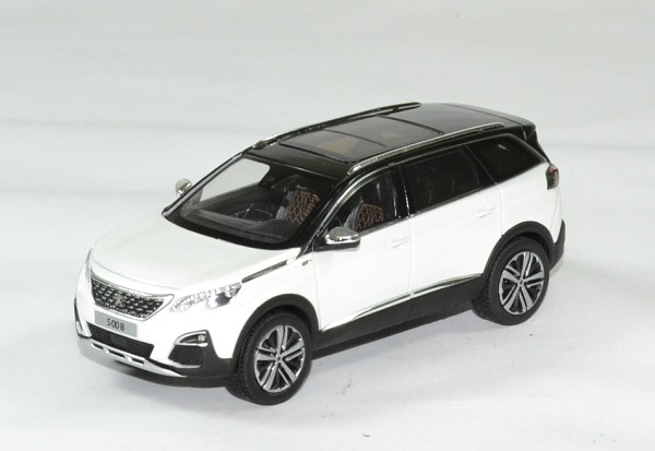 Peugeot 5008 gt 2016 blanc 1 43 norev autominiature01 1
