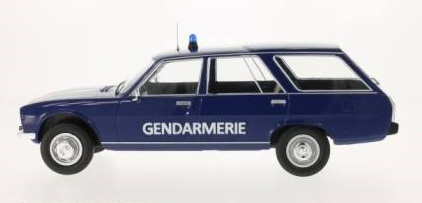 Peugeot 504 break gendarmerie psig mcg 1 18 autominiature01 1