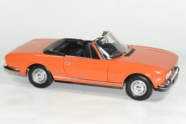 Peugeot 504 Cabriolet Orange 1970 1 18 Norev
