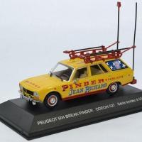 Peugeot 504 cirqu pinder 1 43 odeon autominiature01 odeon027 1