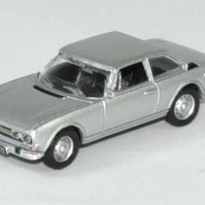 Peugeot 504 coupe argent 1 87 norev autominiature01 1 1
