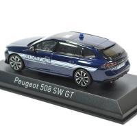 Peugeot 508 sw gt gendarmerie 2018 noev 1 43 autominiature01 475830 2