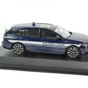 Peugeot 508 sw gt gendarmerie 2018 noev 1 43 autominiature01 475830 3