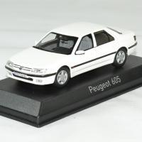 Peugeot 605 blanc 1988 norev 1 43 autominiature01 1