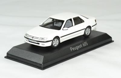Peugeot 605 1988 blanc