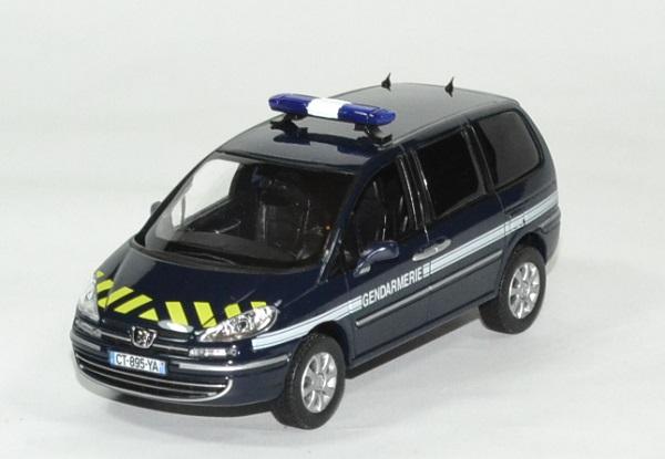 Peugeot 807 gendarmerie 2013 norev 1 43 autominiature01 1