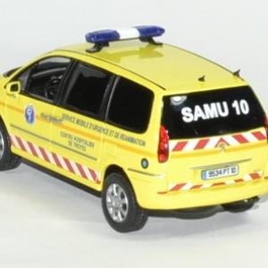 Peugeot 807 samu 2013 troyes 1 43 norev autominiature01 2